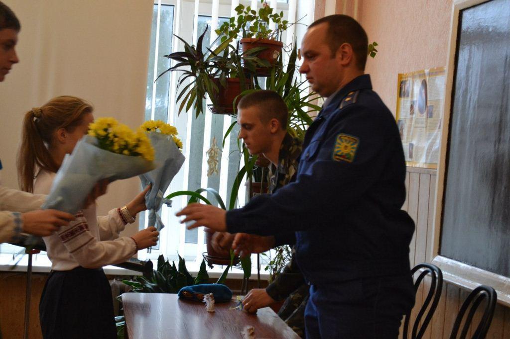 СШ1 зустріч з офіцерами АТО 09
