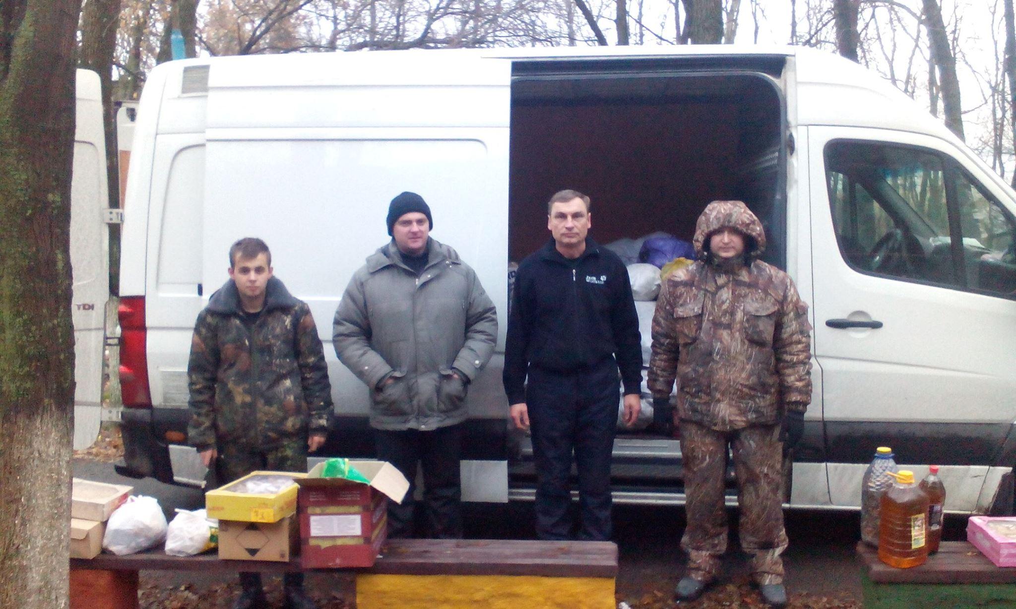 Золотоніські волонтери Лошков Шестак Піски 01