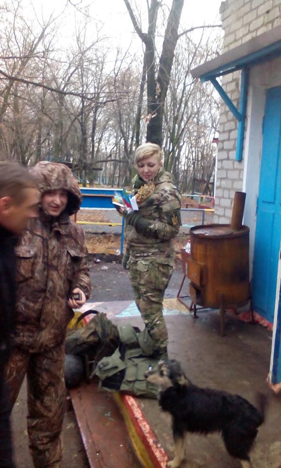 Золотоніські волонтери Лошков Шестак Піски 05