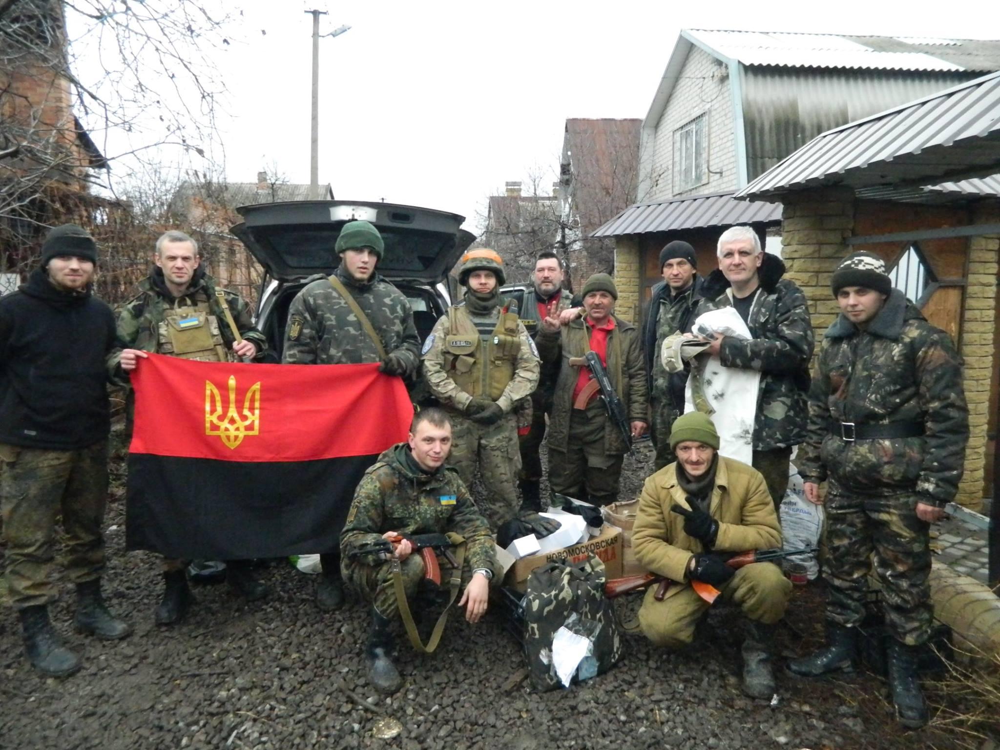 Золотоніські волонтери Лошков Шестак Піски 07