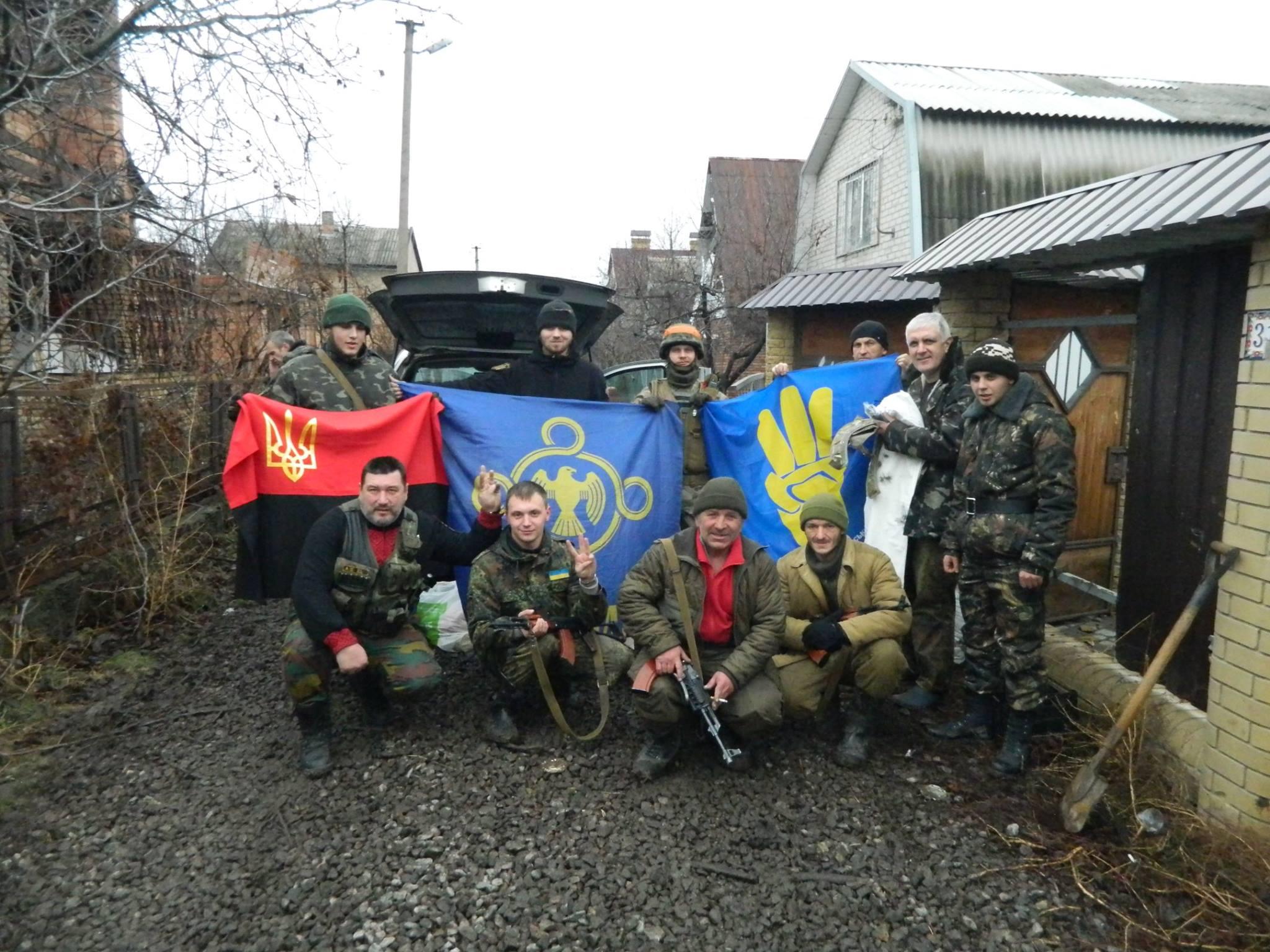 Золотоніські волонтери Лошков Шестак Піски 08