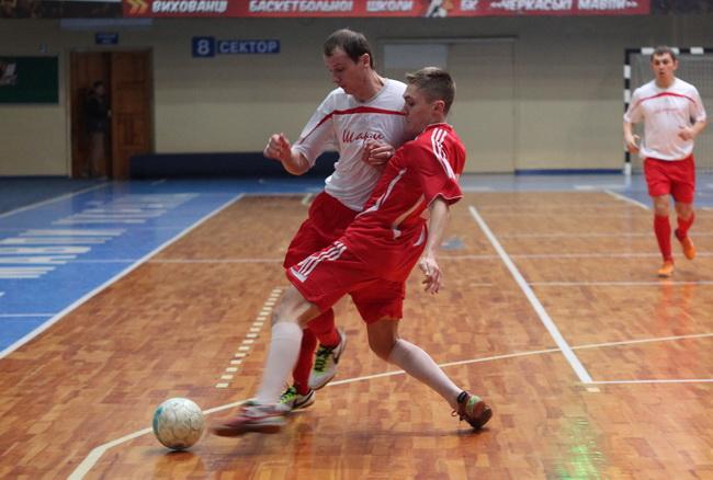 Спартак - Шарм 1-7 7 тур чемпіонату черкащини з футзалу 02