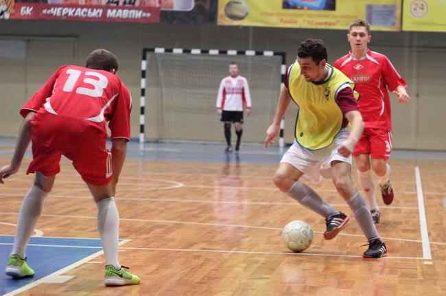 Цетус - Спартак 4-1 8 тур чемпіонату Черкащини з футзалу 14-15 02