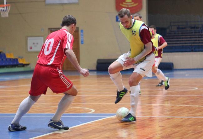 Цетус - Спартак 4-1 8 тур чемпіонату Черкащини з футзалу 14-15 03
