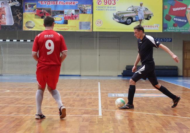 Ураган - Мошни 4-1 8 тур чемпіонату Черкас з футзалу 03