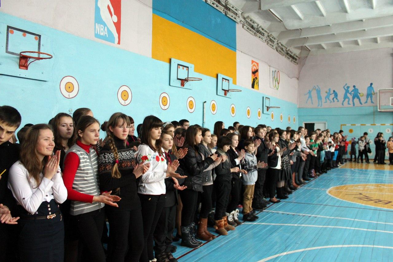 Прапор доброчинності Золотоніська гімназія 09