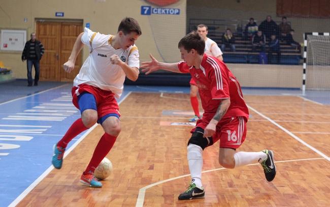 Спартак - Альтаір 2-4 Чемпіонат Черкащиниз футзалу 14-15 9 тур 01