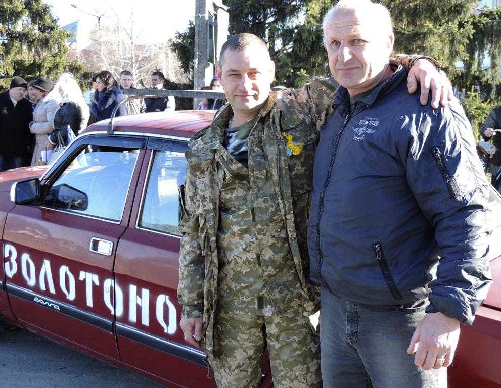 128 бригада проводу в АТО 15