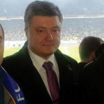 Поранений учасник АТО відвідав футбольний матч в компанії з Порошенком [ФОТО]
