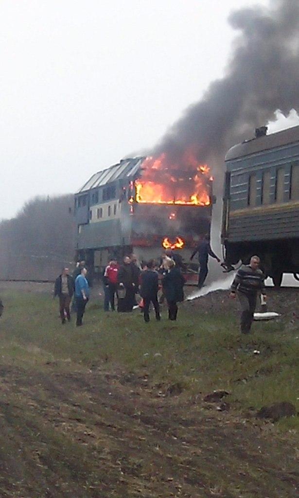 Потяг Київ-Одеса 03