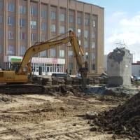 реконструкція площі Золотоноша