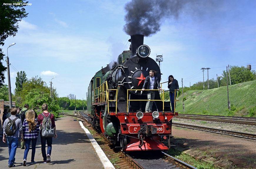 Ретро потяг Золотоноша 12