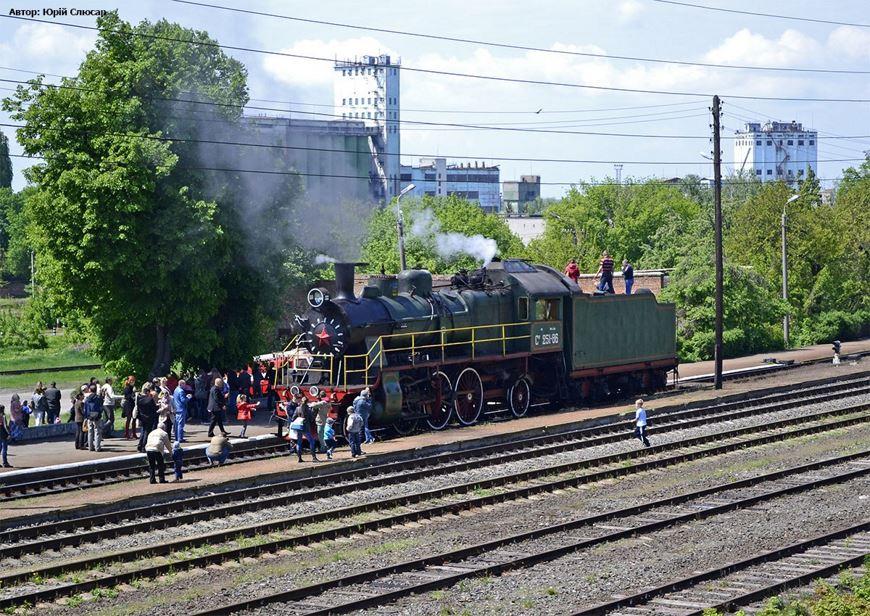 Ретро потяг Золотоноша 13