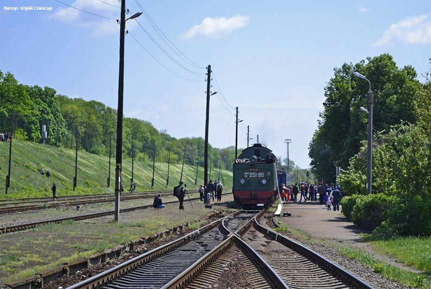 Ретро потяг Золотоноша 15