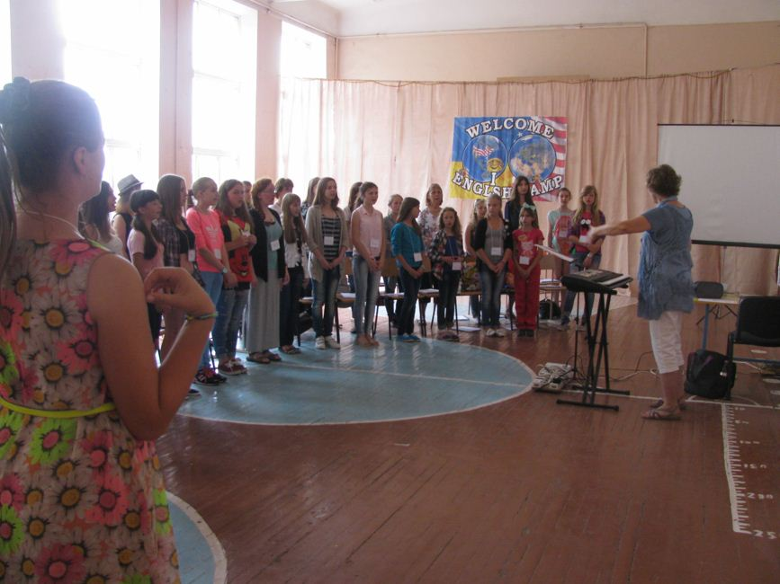 Zolotonosha music ESL-Camp 1