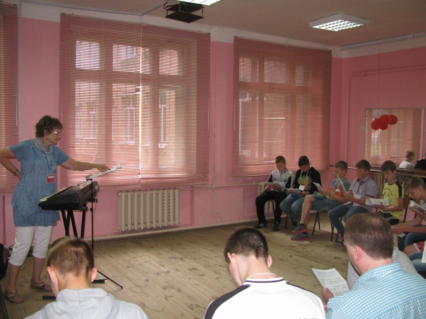Zolotonosha music ESL-Camp 11