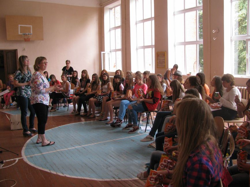 Zolotonosha music ESL-Camp 12