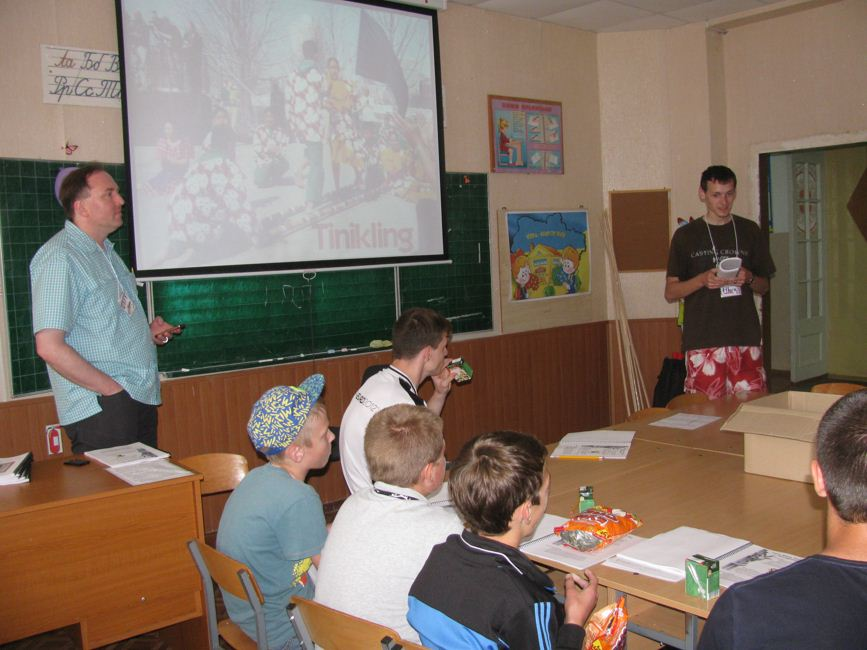 Zolotonosha music ESL-Camp 8