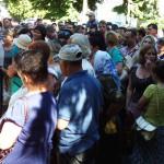 Золотонісці вийшли на масову акцію протесту проти провокацій [ФОТО, ВІДЕО]