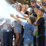Рятувальники та військові провели масштабну лекцію для дитячого табору в Чапаєвці [ФОТО, ВІДЕО]