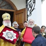 Духовенство УПЦ МП освятило храм у Деньгах [ФОТО]
