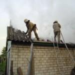 Пожежа у Бубнівській Слобідці понівечила літню кухню [ВІДЕО]