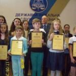 Обласні податківці нагороджували вихованок золотоніського Будинку школяра [ФОТО]