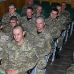Військовослужбовці відсвяткували перші іменини свого полку у Золотоноші [ФОТО]