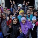 """Золотоніські діти та волонтери зібрали крупну допомогу школярам із """"сірої"""" зони АТО [ФОТО]"""