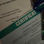 Гімназистка Анастасія Заболотня повернулася із сесії Європарламенту [ФОТО]