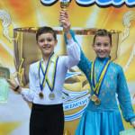 Пара золотоністьких юніорів посідає 4 місце у рейтингу 100 кращих танцювальних пар України [ФОТО]