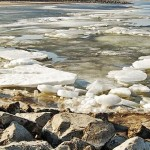 На Дніпрі біля Чапаєвки відзначились першим затонулим автомобілем