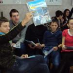 Золотоніські школярі у День Соборності України взяли участь в історичній грі [ФОТО]