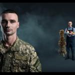 Золотоніський доброволець став героєм волонтерського фотопроекту [ФОТО]
