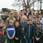 Зацікавлена молодь завітала з екскурсією до  військової частини [ФОТО]