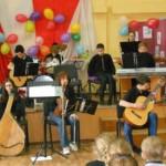 Дитячий оркестр музичної школи дав концерт у гімназії [ФОТО,ВІДЕО]