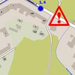 Через аварію в Золотоноші перекриють рух та змінять маршрути автобусів [ІНФОГРАФІКА]