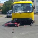 ДТП на жвавому перехресті ледь не скінчилося трагедією [ФОТО]