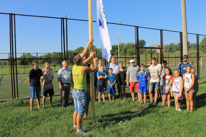 підняття олімпійського прапора 2
