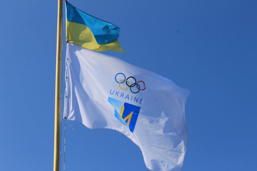 підняття олімпійського прапора 4