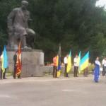 День Незалежності: урочистості в парку Шевченка [ВІДЕО]