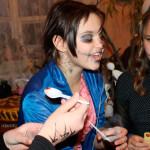 Золотоніські юнаки та дівчата креативно відсвяткували Хеловін [ФОТО]