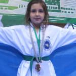 10-річна золотоніська спортсменка здобула бронзу на чемпіонаті світу з таеквондо [ФОТО]