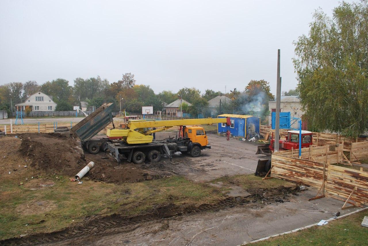 Будівництво міського басейну