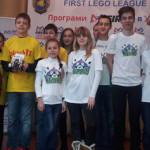 Дві золотоніські команди взяли участь в регіональному турнірі FIRST LEGO League [ФОТО]