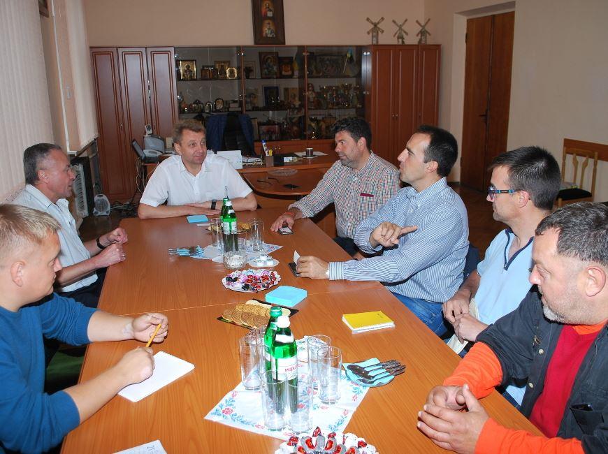 Зустріч з іспанськими фахівцями в рамках програми кредитування від ЄБРР