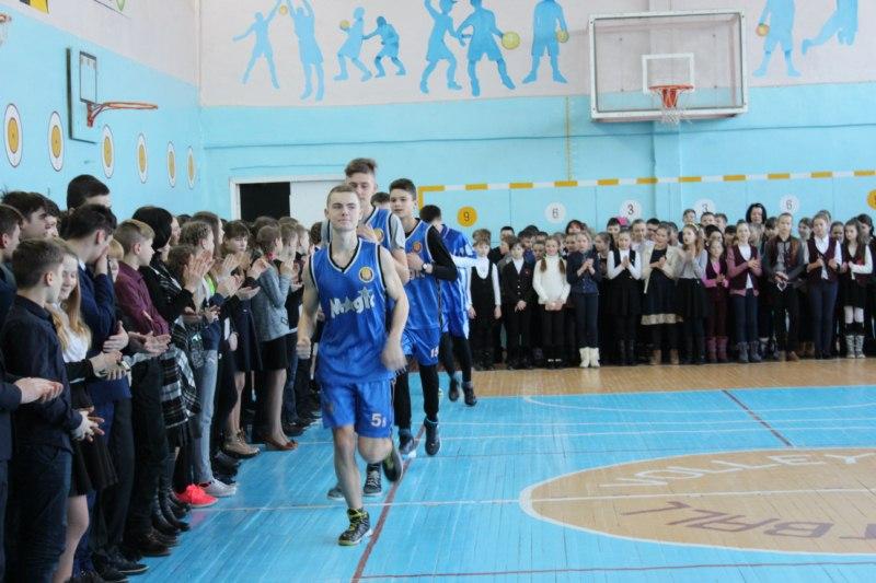 баскетбол гімназія