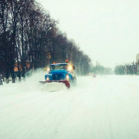 чищення-снігу
