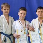 Вихованці золотоніського клубу кіокушин карате здобули три нагороди на обласному турнірі [ФОТО]