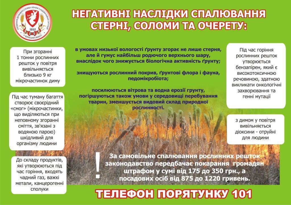 пожежы в екосистемах